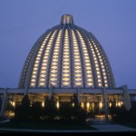 The Bahá'í House of Worship in Langenhain, Germany