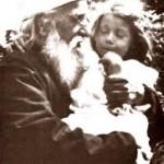 'Abdu'l-Bahá with Pauline Morse